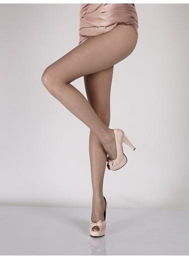 Pierre Cardin Ultra İnce Mat Külotlu Çorap Gri